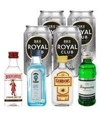 Gin Fling Klassiek Gin en Tonic Proefpakket