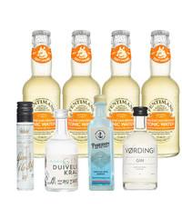 Gin Fling Nederlands Gin en Orange Tonic Premium Proefpakket