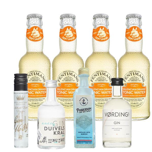 Gin Fling Dutch Gin and Orange Tonic Premium Tasting Pack