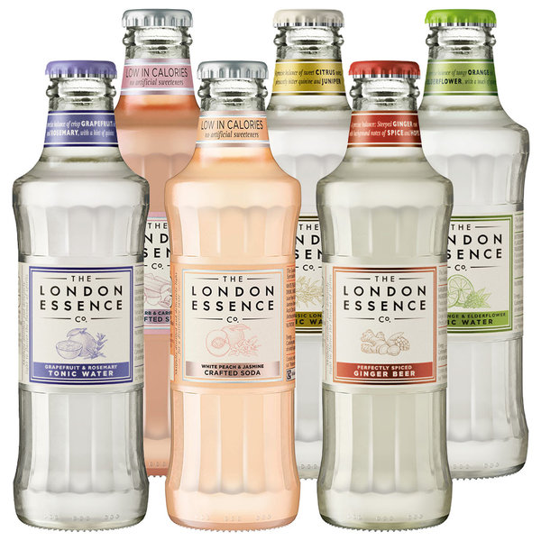 The London Essence Co. The London Essence Mixer Variety Pack 6 x 200ml