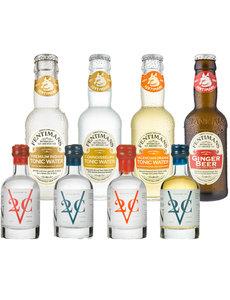 V2C V2C and Fentimans Mixer Tasting Pack