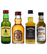 Gin Fling Whisky Minis Proefpakket 4 x 5cl