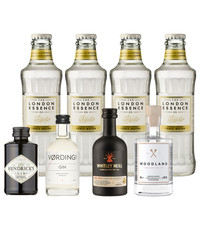 Gin Fling Gin and  London Essence Tonic Premium Tasting Pack