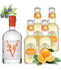 V2C V2C Orange Gin and Fentimans Tonic Pack