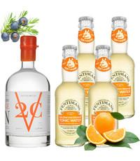 V2C V2C Orange Gin en Fentimans Tonic Pakket