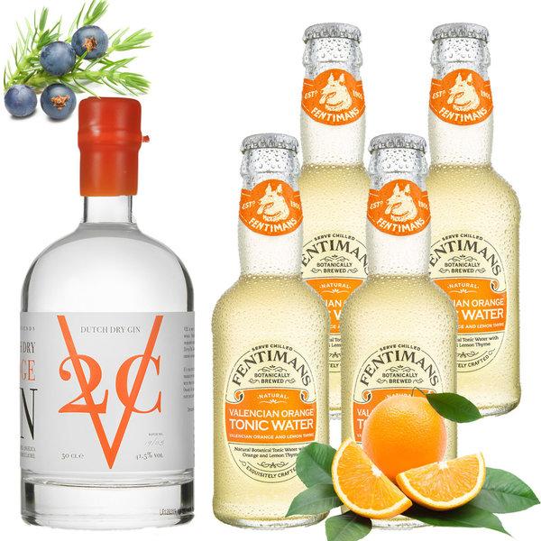 V2C V2C Orange Gin and Fentimans Tonic Pack