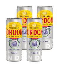 Gordon's Gordon's Gin and Tonic 4 x 250ml