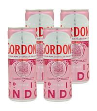 Gordon's Gordon's Pink Gin and Tonic 4 x 250ml