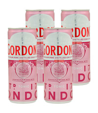 Gordon's Gordon's Pink Gin en Tonic 4 x 250ml