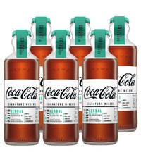 Coca-Cola Coca-Cola Signature Mixer - Herbal 6 x 200ml