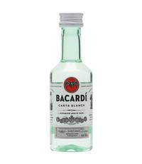 Bacardi Bacardi Carta Blanca (Mini) 5cl