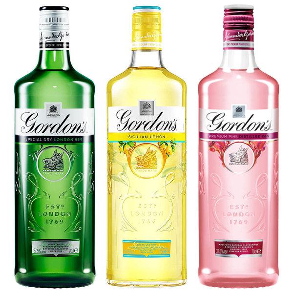 Gordon's Gordon's Gin Variety Pack 3 x 70cl