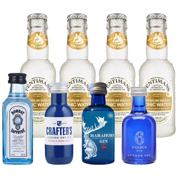 Gin Fling Gin and Fentimans Tonic Premium Tasting Pack