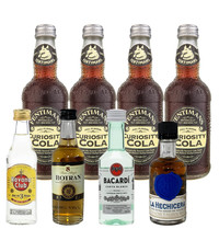 Gin Fling Rum and Fentimans Cola Tasting Pack