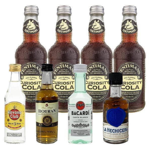 Gin Fling Rum and Fentimans Cola Tasting Pack