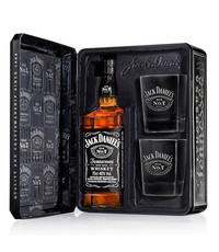 Jack Daniel's Jack Daniel's Whiskey Cadeauset (70cl & Glazen)