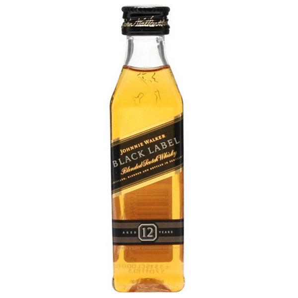 Johnnie Walker Johnnie Walker Black Label Whisky (Mini) 5cl