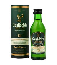 Glenfiddich Glenfiddich 12 Year Whisky (Mini) 5cl