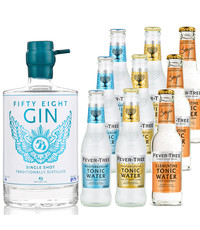 Gin Fling 58Gin and Fever-Tree Tasting Pack
