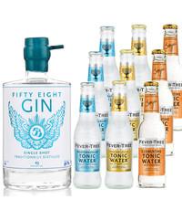Gin Fling 58Gin en Fever-Tree Proefpakket