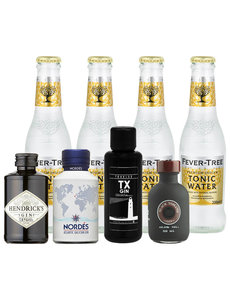 Gin Fling Gin en Fever-Tree Tonic Premium Proefpakket