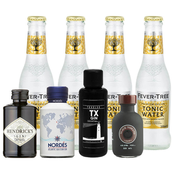 Gin Fling Gin and Fever-Tree Tonic Premium Tasting Pack