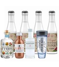 Gin Fling Gin en Royal Botanic Tonic Premium Proefpakket