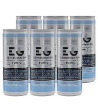 Edinburgh Edinburgh Gin and Tonic Blikjes 6 x 250ml