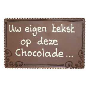 Chocolade plakkaat