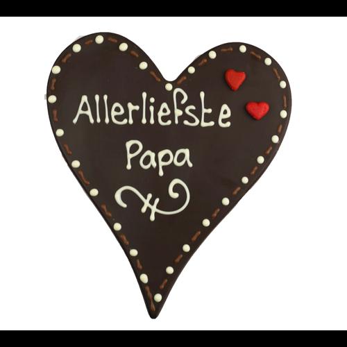 Allerliefste papa - Chocoladehart