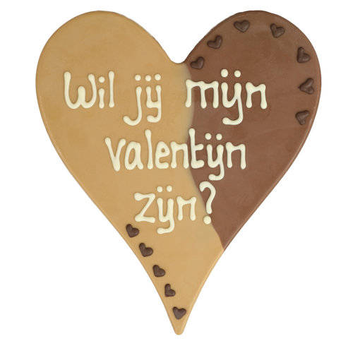 Wil je mijn valentijn zijn?