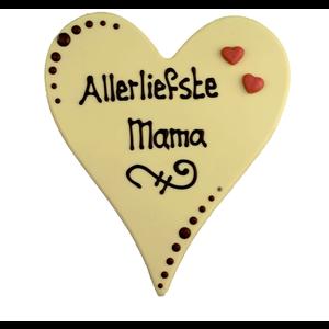 Allerliefste mama - Chocoladehart