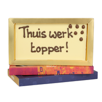 Thuiswerk topper