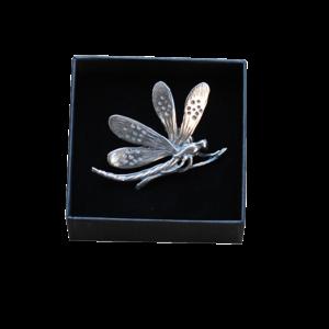 Brosche Libelle