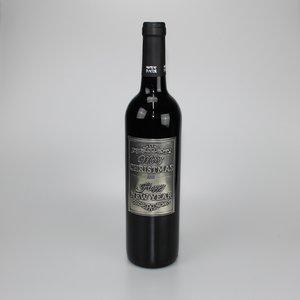 Wijnfles met Label
