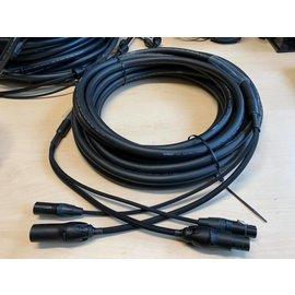 Tasker 1,5m Combikabel  C283 soft - Powercon True1 en XLR 3-polig