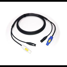 Tasker 1,5m Combikabel  C283 soft - Powercon en XLR 3-polig
