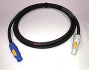 Powercon doorluskabels 3x1,5 mm²