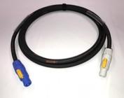 Powercon doorluskabels 3x2,5 mm²