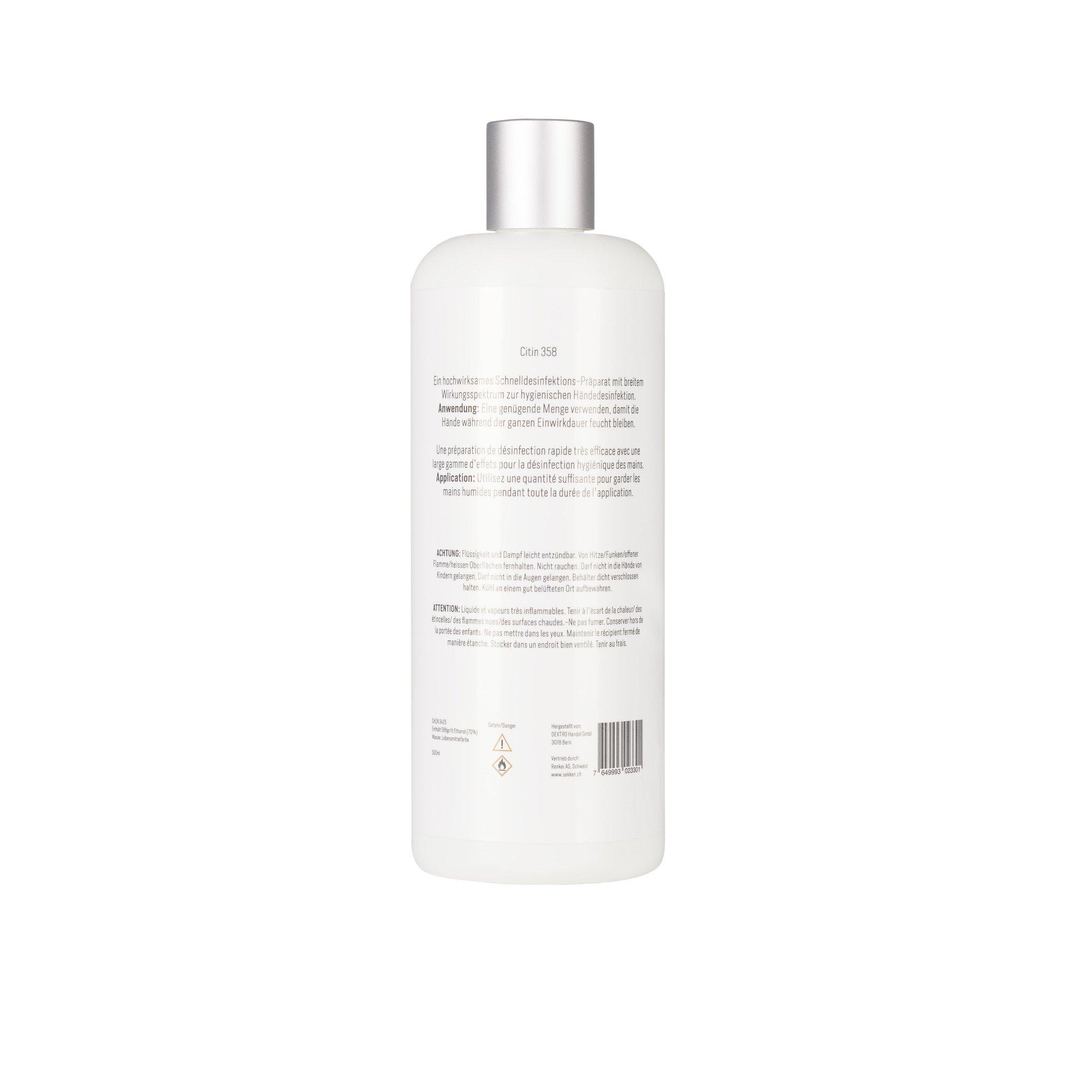 Hand Sanitizer Citin 358 500ml  Promo 24 Pcs-2