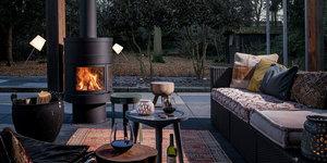 Welke vuurbronnen zijn er voor tuinhaarden?