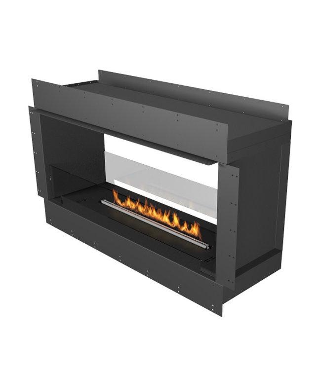 Planika Prime Fire 990+ Forma Firebox 1200 Inbouwhaard Doorkijk