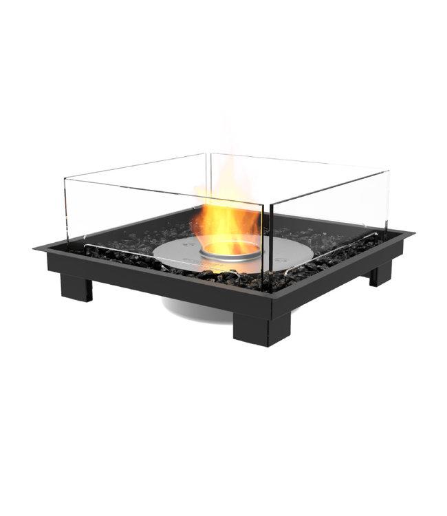Eco Smart Fires Square 22 Bio-ethanol Inbouwhaard