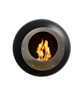 Cocoon Fires Vellum Wall Cocoon Zwart Bio-ethanol Wandhaard