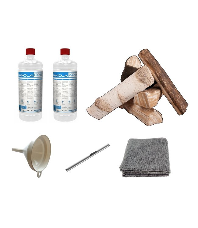 Decoratiepakket Wood Standard