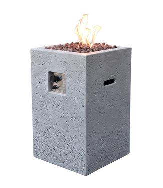 Elementi Kelut Tuinhaard Op Gas