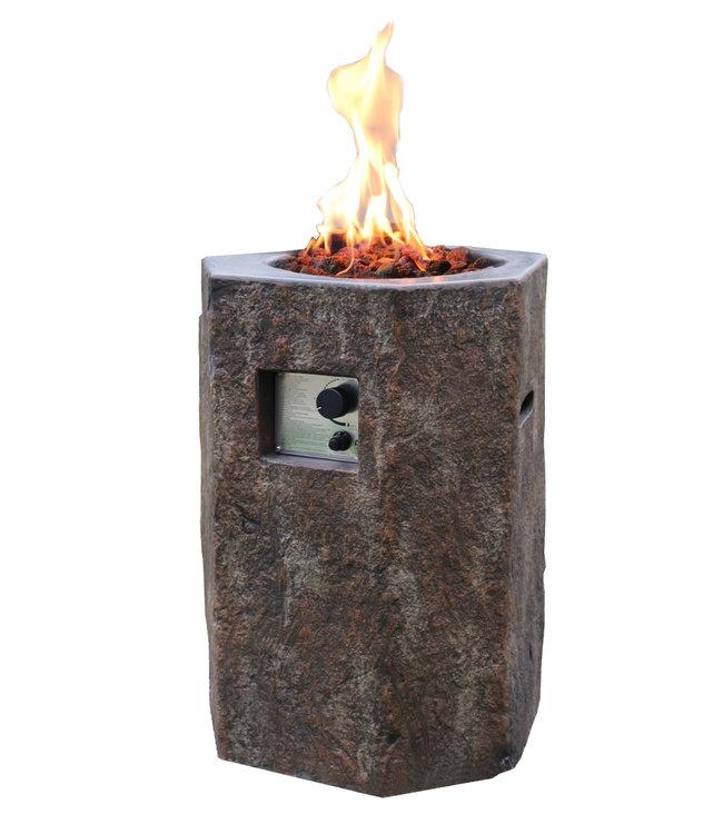 Elementi Tambora Tuinhaard Op Gas