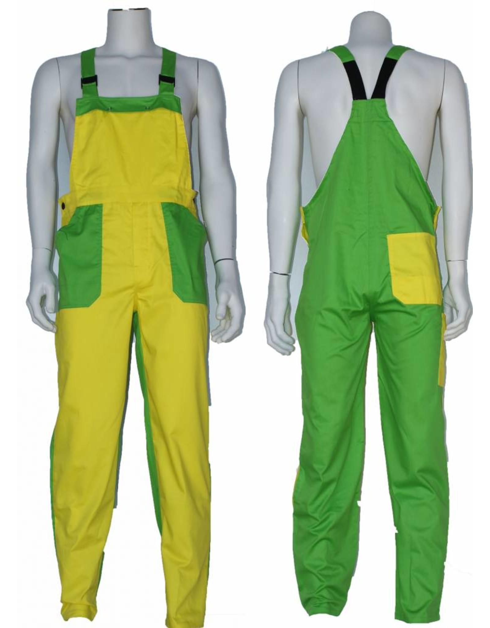 Manuel Tuinbroek 65%polyester / 35% katoen, 2-kleurig