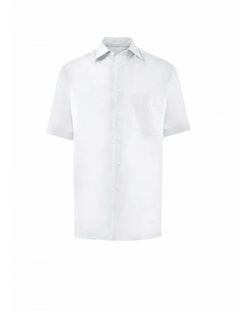 Greiff Overhemd 6601 wit korte mouw