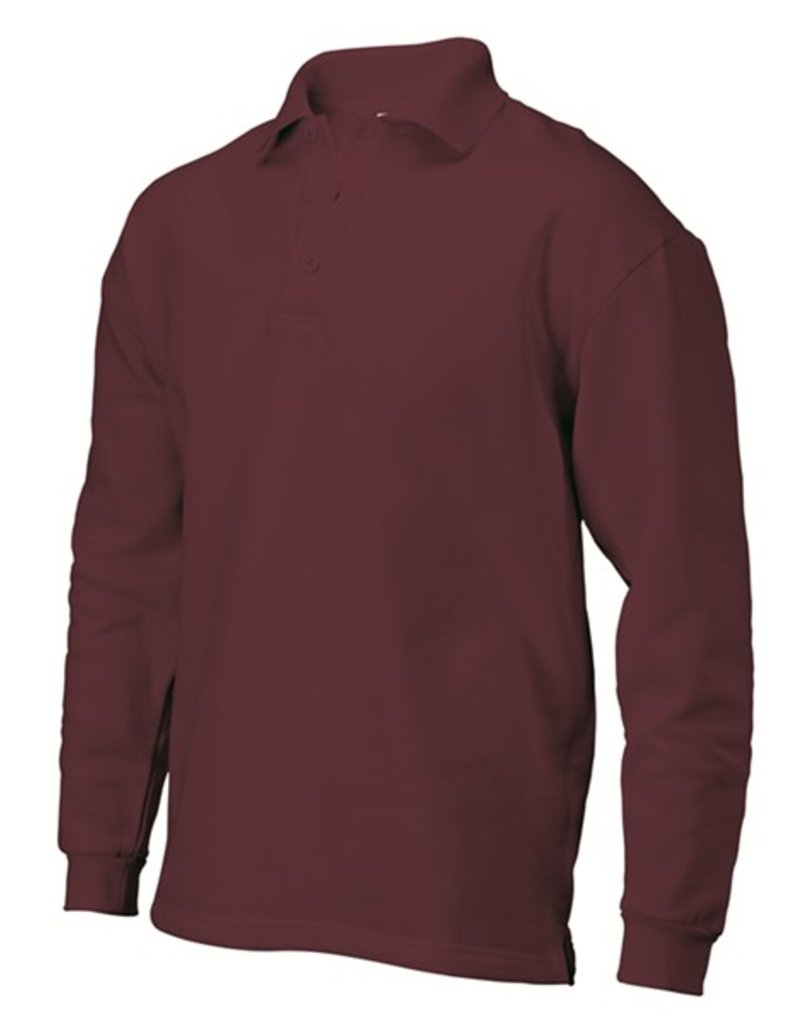 Tricorp Polo-sweater PS280 bordeaux